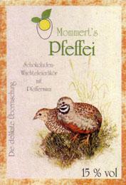Mommerts Pfeffei  Etikett