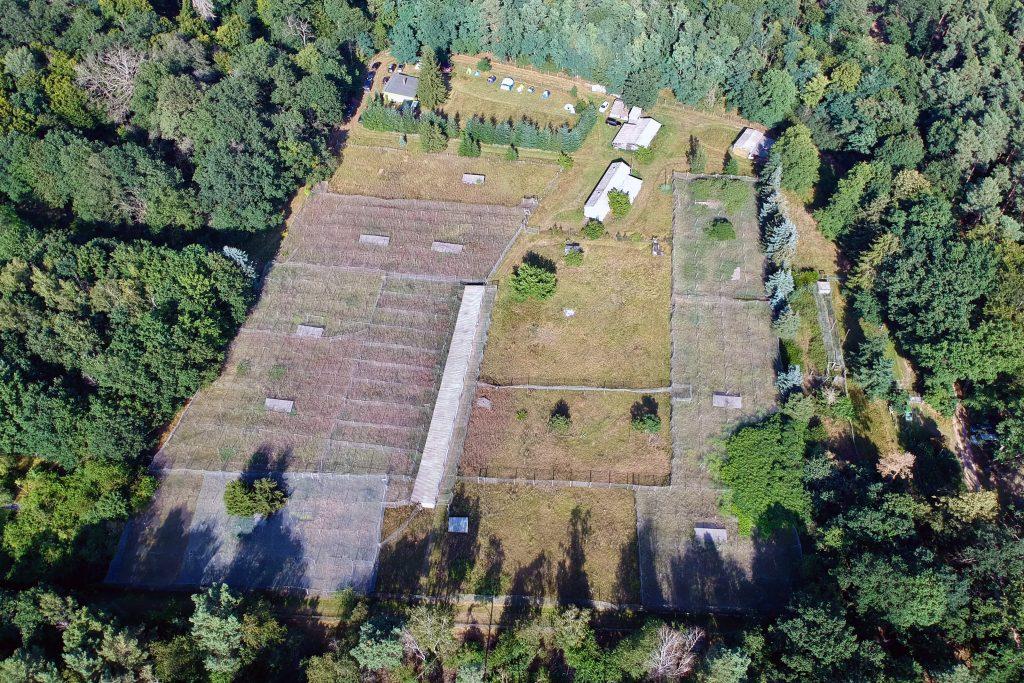 Luftbild der Fasanerie Wendgräben